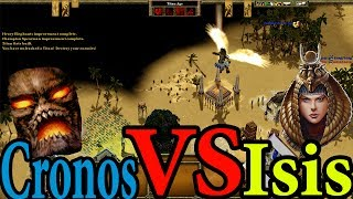 Age Of Mythology Extended Edition Multiplayer Matches Gameplay- Egypt Vs Oranos 1v1