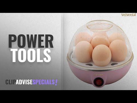 Top 10 Power Tools [2018]: Velveeta Eggs Device Multifunction Poach Boil Electric Egg Cooker Boiler