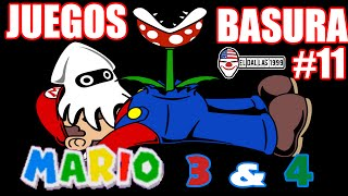 JUEGOS BASURA: Mario 3: Around the World / Mario 4: Space Odyssey (Sega Genesis) - Loquendo