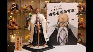 Bleach, FOC Yamamoto Genryusai Captain Commander Resin Statue Unboxing.
