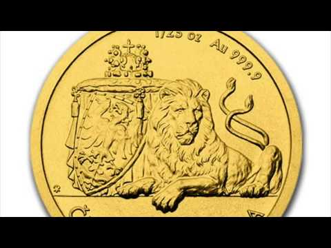 First Czech Bullion Gold Niue 1/25 Oz. Coin