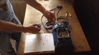 Реверс электродвигателе на одном конденсаторе