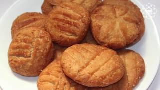 बहर सटइल मठ खसत रसप इन हद khasta Khajur Recipe  Bihari Thekua Recipe- Mithe Khasta
