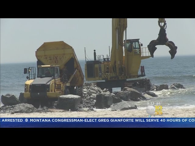 Beach Lovers Say Jetty Construction Totally Stinks