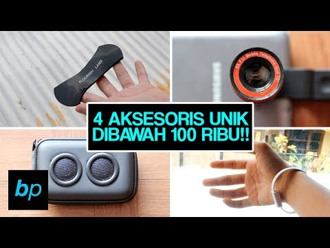 4 AKSESORIS SMARTPHONE TER KEREN & UNIK!!! (Nomer 4 FAIL?) Unboxing & Review INDONESIA | Buka paket