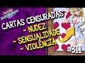 Carta censuradas do Yu-Gi-Oh! por nudez, sensualidade, violência, apologia a armas e muito mais