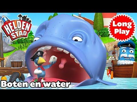 Helden van de Stad - Boten en water - Peuter/kleuter animering - Lange versie - Bundel