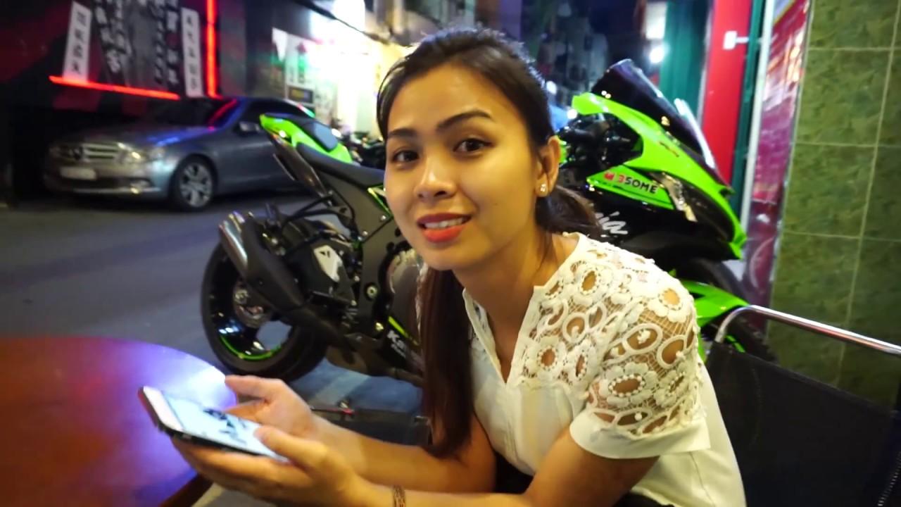 Vinh Phan Vlog #17 : Ăn tối và Review Zx10r 2018 cục súc
