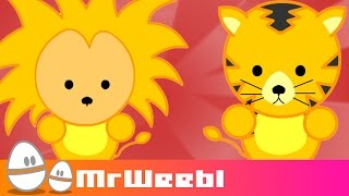 Repeat youtube video Kenya: Where Can You See Lions? : animated music video : MrWeebl