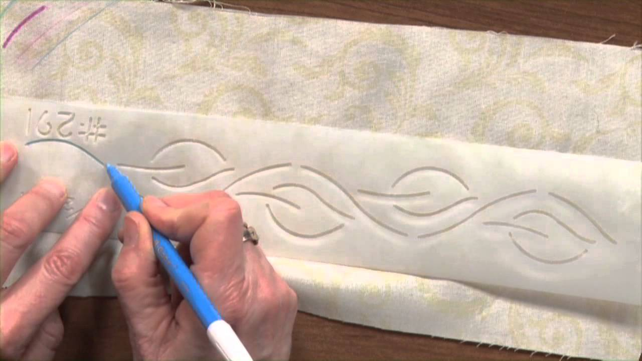 Hand Quilting Designs Templates | How To Mark A Quilt And Quilt Marking Tools National Quilter S