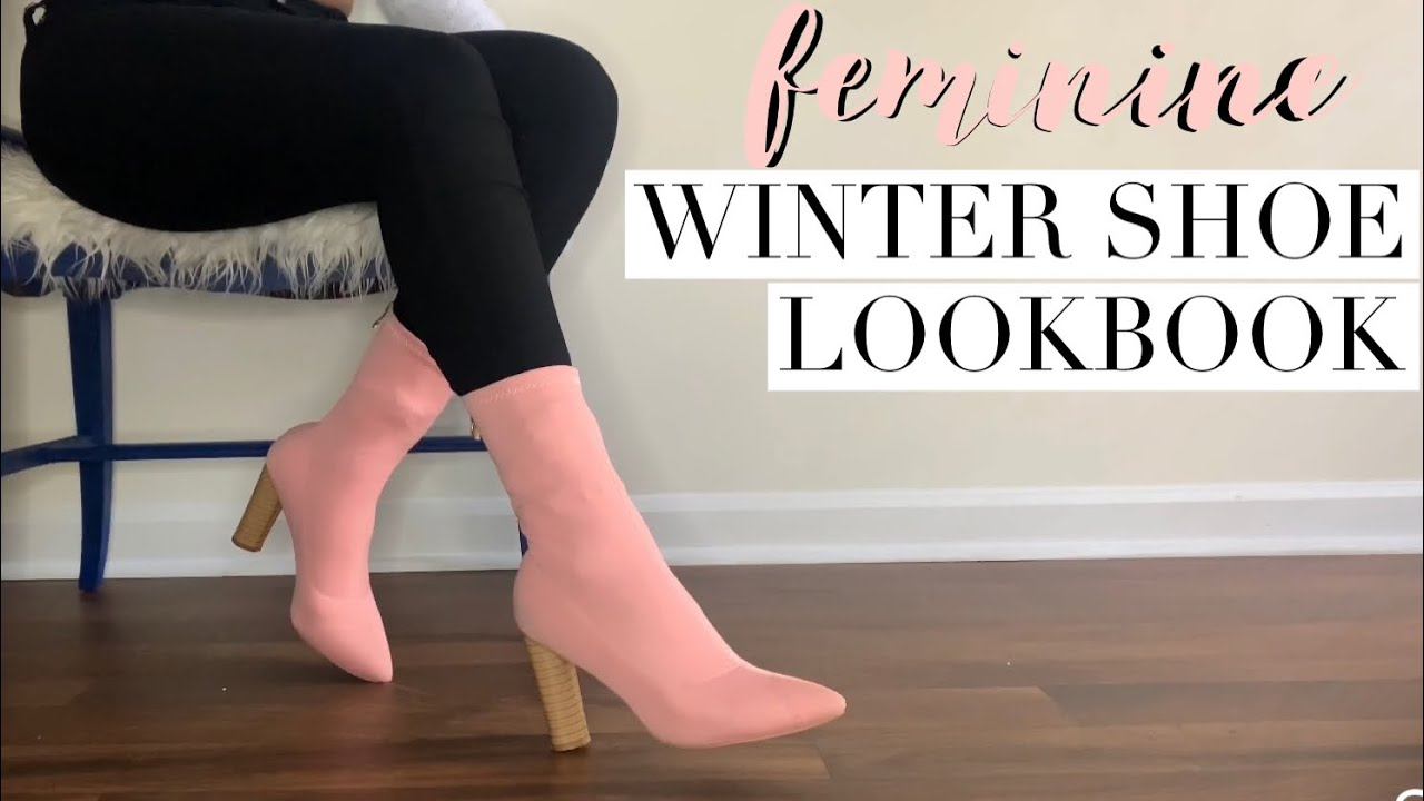 FEMININE WINTER SHOE LOOKBOOK! 🎀 | Ebony Nikita | Ego shoes, Simmi Shoes & MORE!