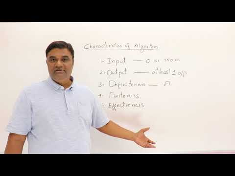 1.2 Characteristics of Algorithm