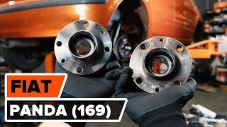 Jak vyměnit zadních ložisko kola na FIAT PANDA (169) [NÁVOD AUTODOC]
