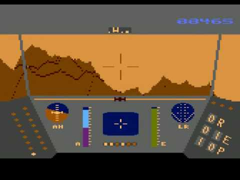 Atari XL/XE - Rescue on Fractalus [Lucasfilm Games] 1985