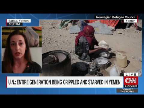 CNN CTW - Norwegian Refugee Council - Yemen Crisis interview - 25th April 2017