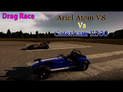 Forza Horizon 2 - Drag Race: Ariel Atom V8 Vs Caterham R500