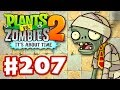 Plants vs. Zombies 2: It's About Time - Gameplay Walkthrough Part 207 - Pyramid of Doom (iOS)