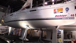 2018 Dehler 46 Sailing Yacht - Walkaround - 2018 Boot Dusseldorf Boat Show