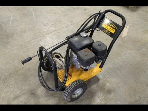 Fix It Friday Titan Industrial 2200 Pressure Washer Youtube