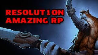 AMAZING RP! by Resolut1on @ Dota Pit Season 3