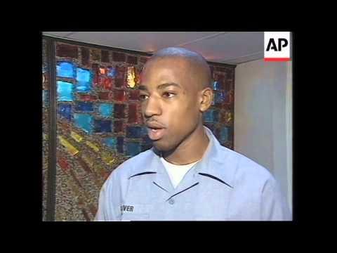 GULF: PILOTS ABOARD USS ENTERPRISE REPORT SUCCESSFUL NIGHT'S BOMBING