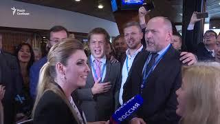 Гімн України на російському телебаченні