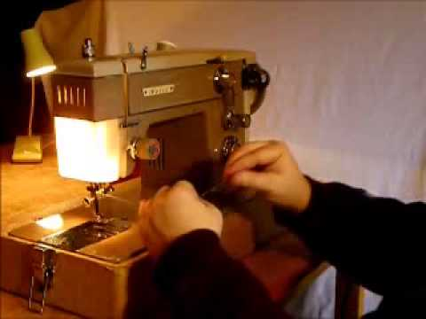 Nelco Zigzag Sewing Machine Final TestDemonstration Video YouTube Awesome How To Thread A Vintage Nelco Sewing Machine