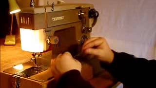 Nelco Zigzag Sewing Machine, Final Test/Demonstration Video