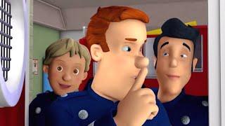 Feuerwehrmann Sam 🔥Dem Feuerwehrhauptmann wird ein Streich gespielt  🚒Zeichentrick für Kinder