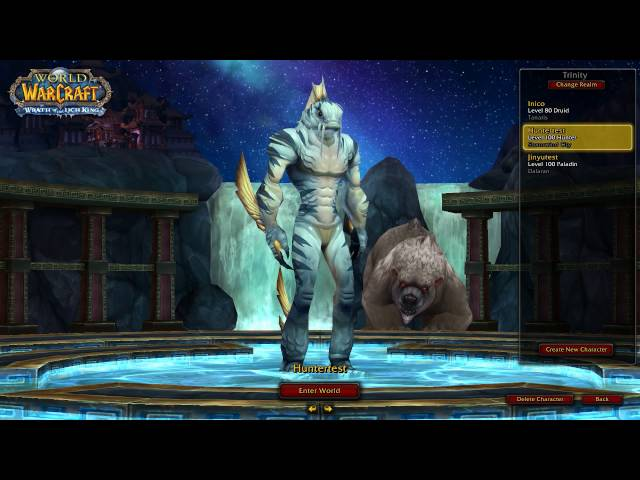 Jinyu character selection background - World of Warcraft