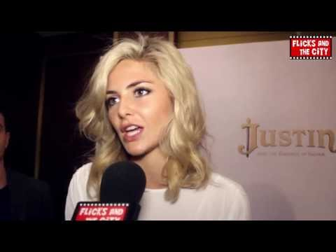 Tamsin Egerton Interview - Justin and the Knights of Valour & Love, Rosie