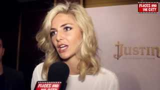tamsin egerton interview justin and the knights of valour love rosie