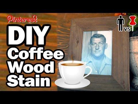 DIY Coffee Wood Stain - Man vs. Pin #14