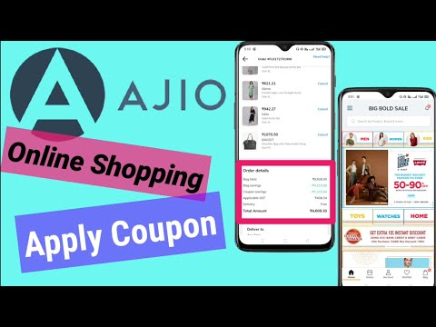 Ajio Online Shopping | How To Apply Coupon Code in Ajio