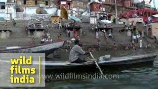 Ahilya Bai Ghat of Varanasi - Uttar Pradesh