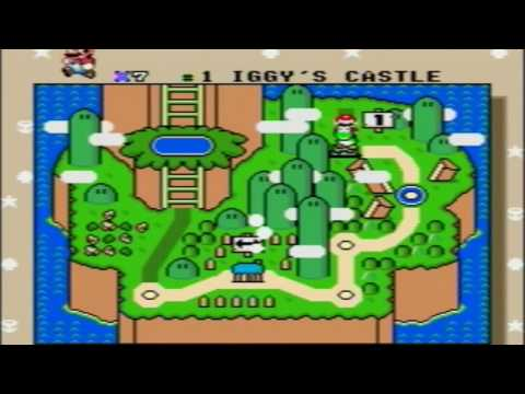 Super Mario World (Wii U VC) Minimal Exit Finish