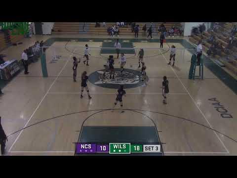 Wilson Varsity Volleyball vs. National Cathedral School (DCSAA Quarter Finals)