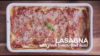 Lasagna With Fresh Tomatoes And Basil | Farm To Table Family | Pbs Parents