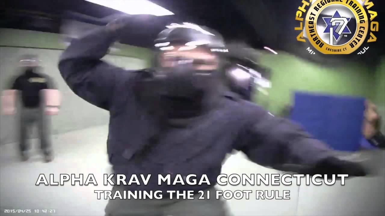 Alpha Krav Maga Manchester Ct alpha krav maga ct | training the 21 foot rule