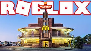 BUILDING A $10,000,000 MCDONALD'S IN ROBLOX!