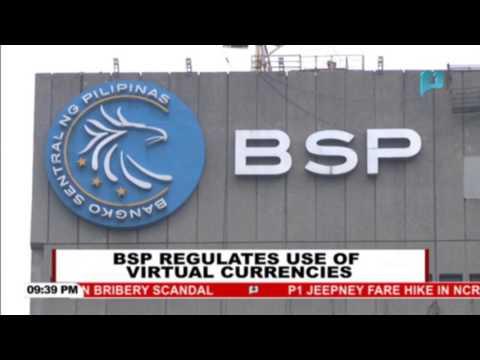 BSP regulates use of virtual currencies