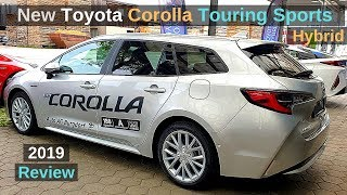 New Toyota Corolla Touring Sports Hybrid 2019 Review Interior Exterior
