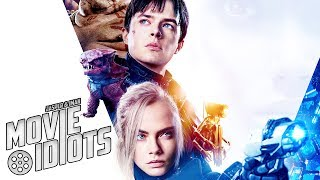 VALERIAN AND THE CITY OF A THOUSAND PLANETS - Film Recensie Jasper en Iman - Movie Idiots