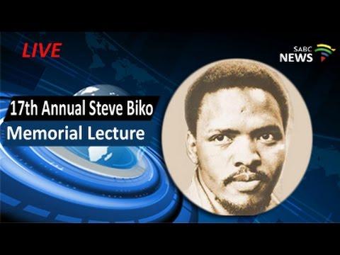 17th Annual Steve Biko Memorial Lecture, 09 September 2016