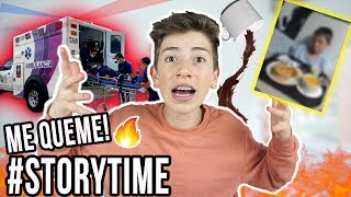 ME QUEME MIS PARTES INTIMAS CON CHOCOLATE ! | STORY TIME - Mateoocoo