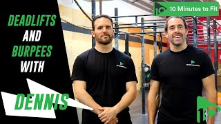 Killer Burpees? | Deadlifts and Burpees with Dennis F. (40)