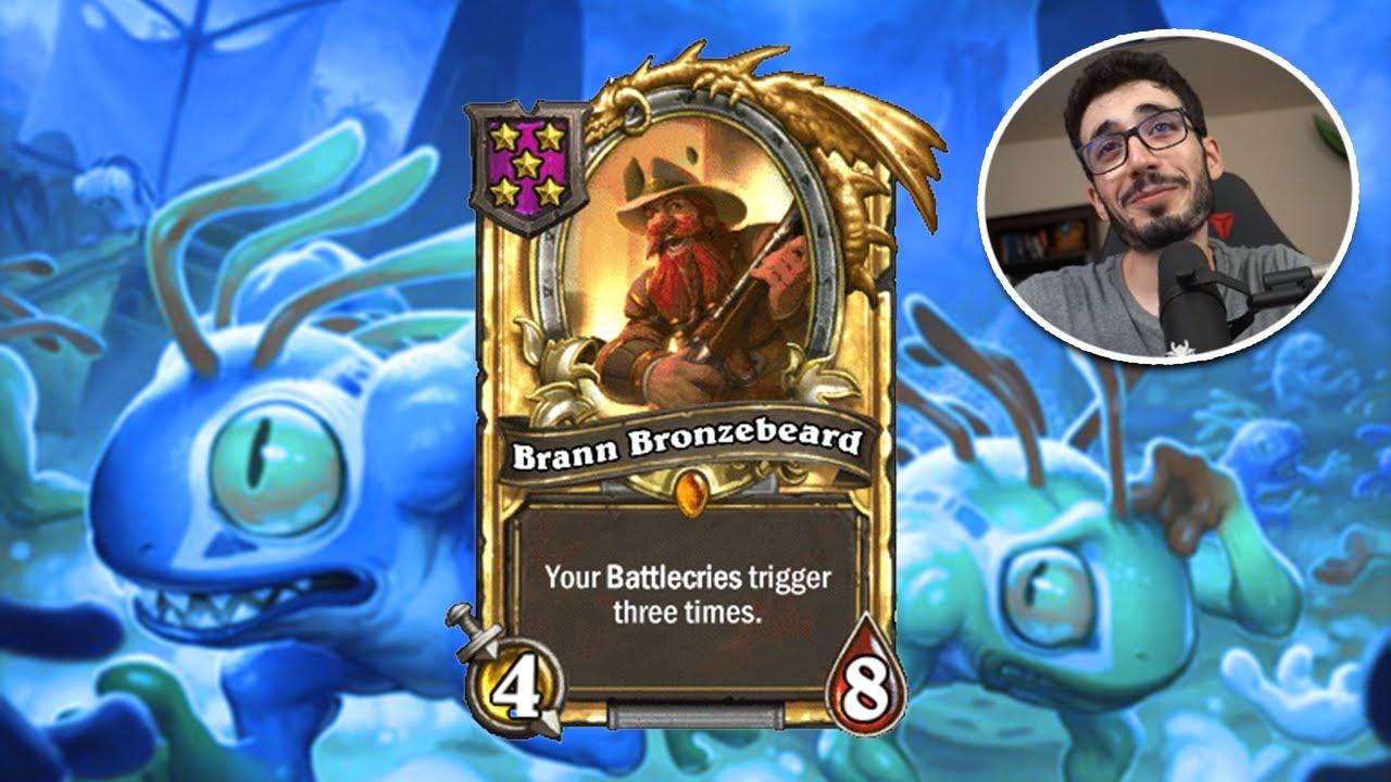 Is GOLDEN BRANN Enough to win?   Hearthstone Battlegrounds