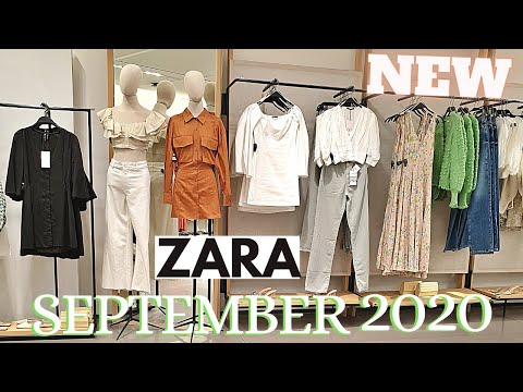 Zara September 2020 New Fall Collection Ladies Shoes Bags Youtube