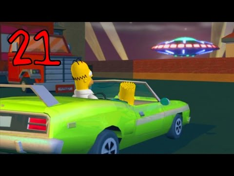 Jahova Plays The Simpsons Hit & Run Episode 21 (Homer Simpson - Super Cool Halloween Level!)