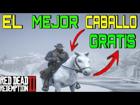 CONSEGUIR MEJOR CABALLO GRATIS EN RDR2 | TRUCOS DE CABALLO GRATIS EN RED DEAD REDEMPTION 2 | RDR2